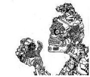 gothic drawings, robots