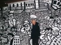 draw graffiti, mural graffiti