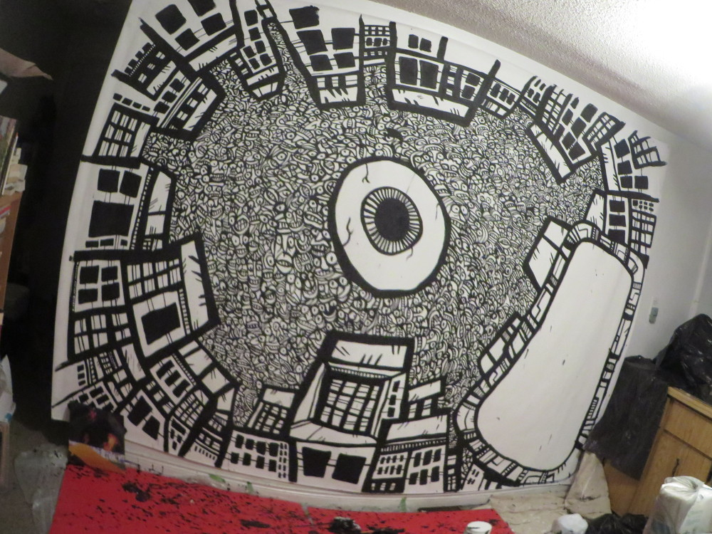 Converse Music, mural art, commissions