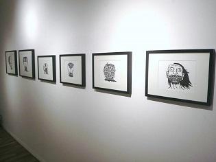 dark art, zombie faces