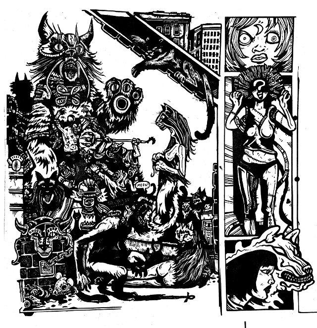 Gantz Yokai: Manga Monsters, Cult Drawings