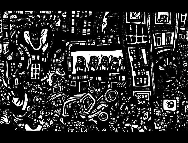 art doodles, comic book drawings