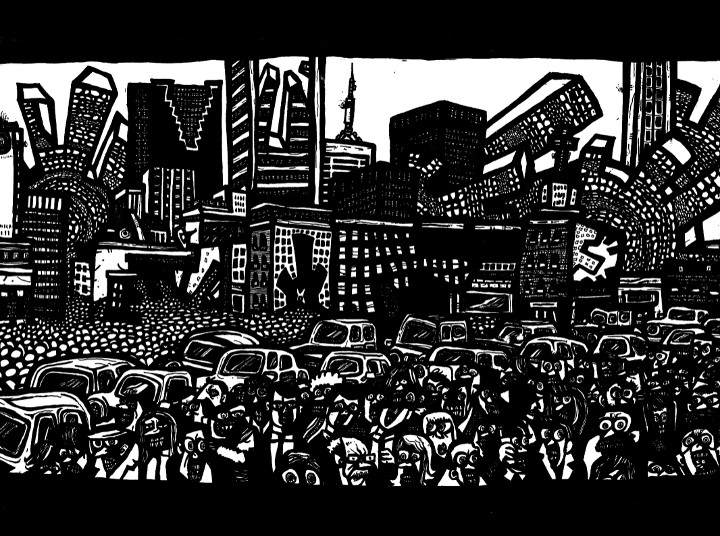surreal city,Canadian Art, Toronto