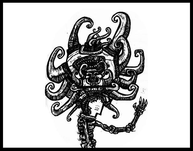 dark drawings,telepath