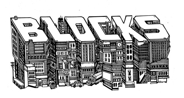 Custom illustration depicting a combination of old modern architecture