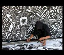comic book drawings, graffiti artwork