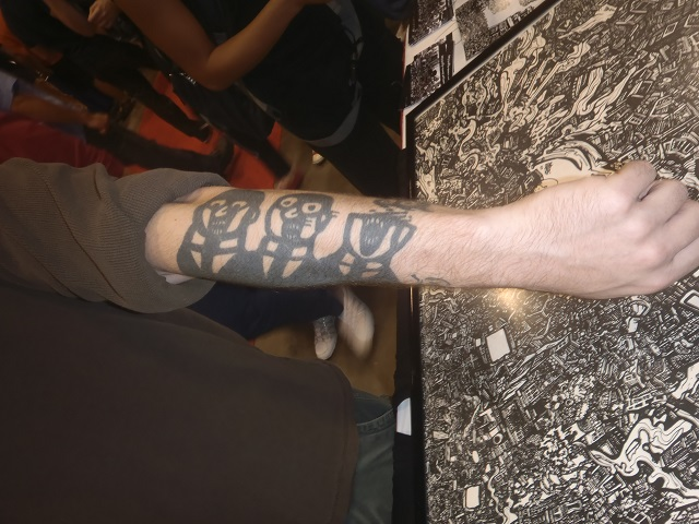 Comi Con Tattoo