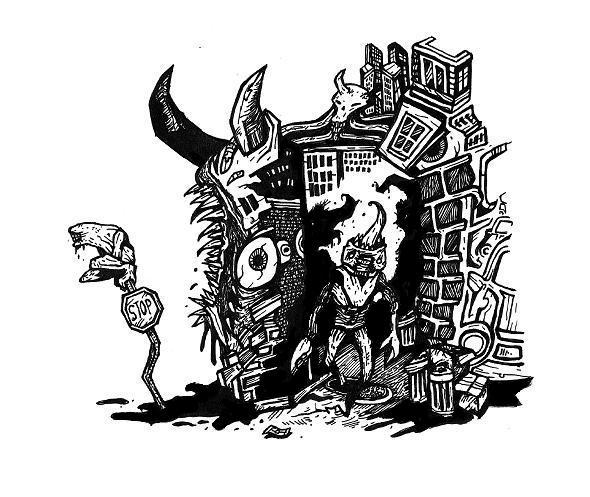 creepy drawings,monster comics,surreal comics,strange weird,unusual,ink drawings