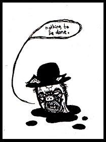 dark drawings,samuel beckett