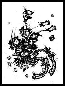 dark drawings,money grubber