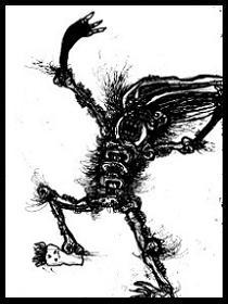 dark drawings,primal scream