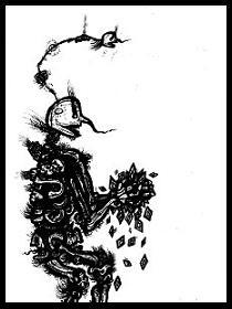 dark drawings,rich,skeleton