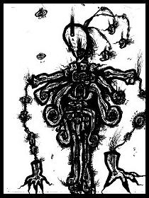 dark drawings,skeleton