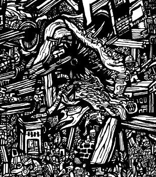 doodle art, line drawings