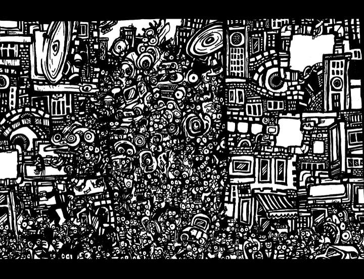 doodle draw, art