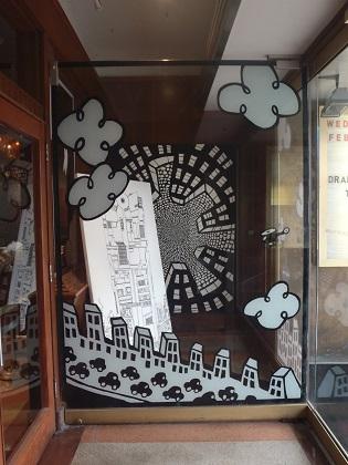 Drake Hotel Toronto, window display