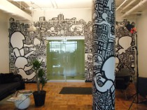 draw graffiti, mural drawings