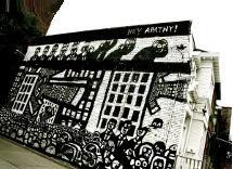 draw graffiti,outdoor wall murals