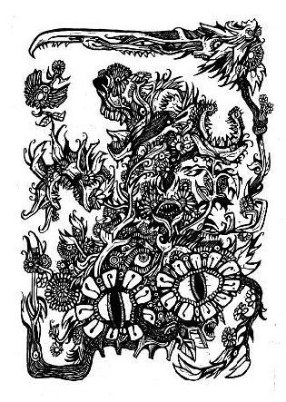 gothic drawings,artwork,comic book