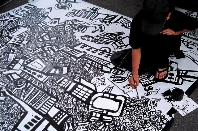 graffiti drawing,comic books