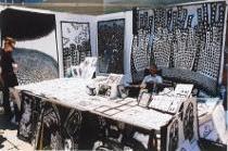 graffiti street art, black white drawings