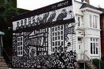 graffiti artists, street art