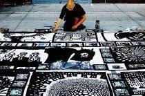 graffiti street art, drawings