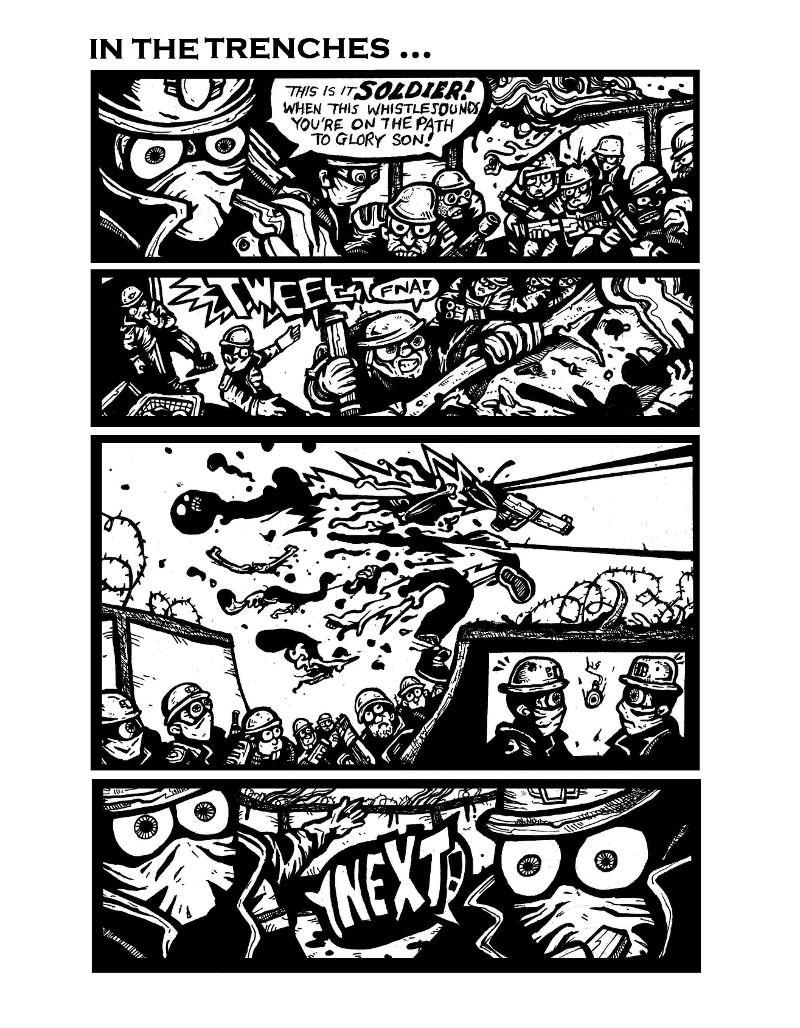 military comics,