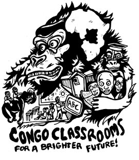 monkey drawings,congo