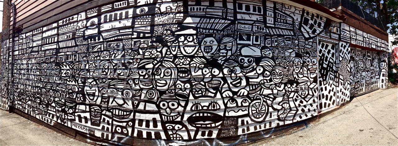 mural graffiti, Street Art Toronto