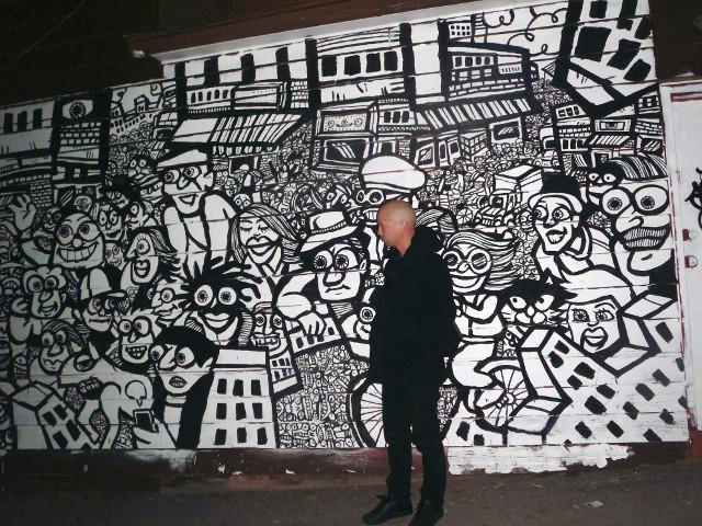 mural graffiti, Toronto, Kensington Market