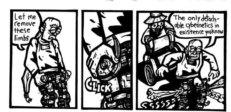 read online free comics, samurai, robots