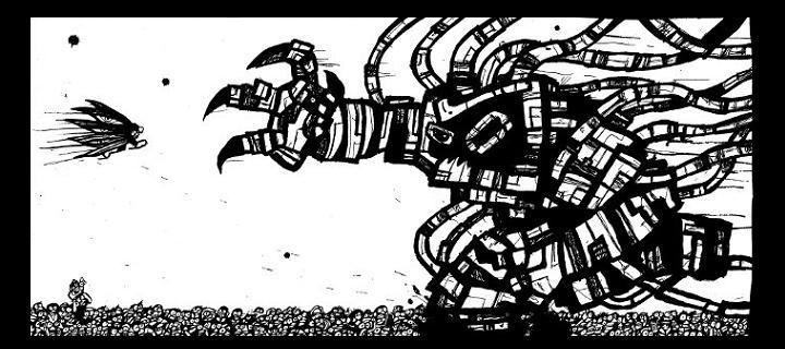 online manga, read comics, robot monster