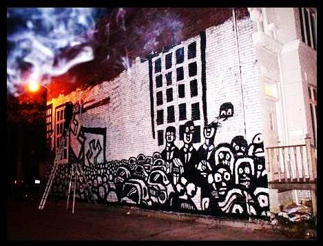Hey Apathy Outdoor Wall Murals