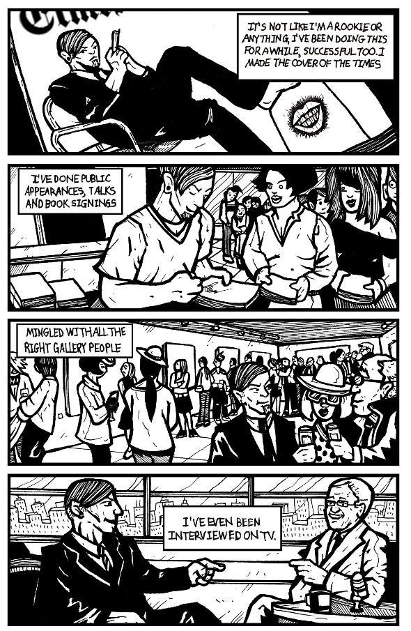 read comics online, existential art