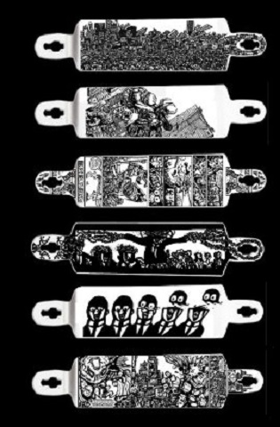 skateboard art
