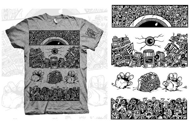 strange shirts, fashion drawing