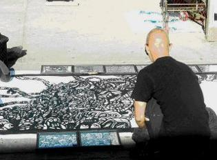 street murals,sketches