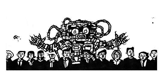 surreal,monster,comics,animations,