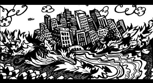 comic book drawings, superhero