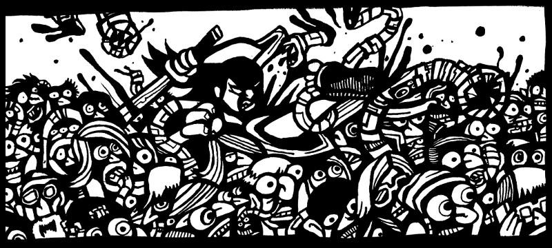 comic book online, samurai