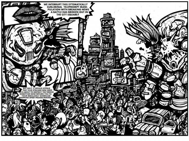 comic illustrations