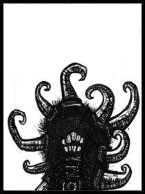 dark drawings, devil within