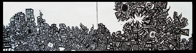 dragon artwork, murals