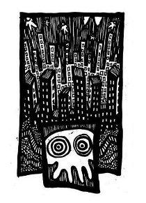 existential art,city nightmares