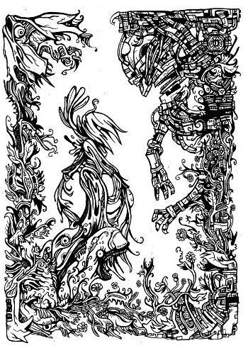gothic drawings,artwork,fantasy