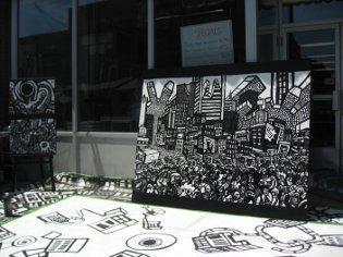graffiti drawing,Toronto