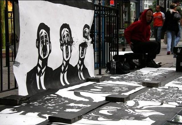 graffiti drawings, gothic, urban