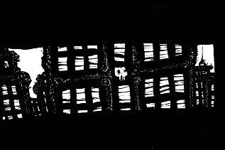pen and ink artwork,urban, dark art