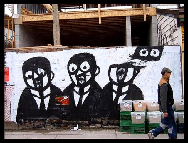 sidewalk paintings, surreal art